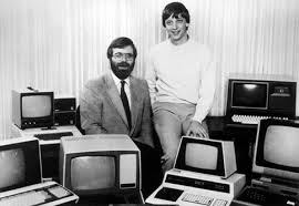 Paul Allen y Bill Gates en 1981
