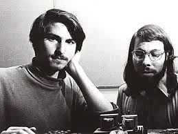 Steve Jobs y Steve Wozniak en 1976
